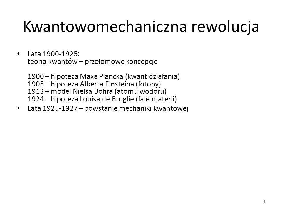 Kwantowomechaniczna rewolucja