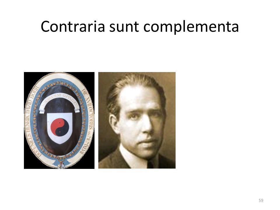 Contraria sunt complementa