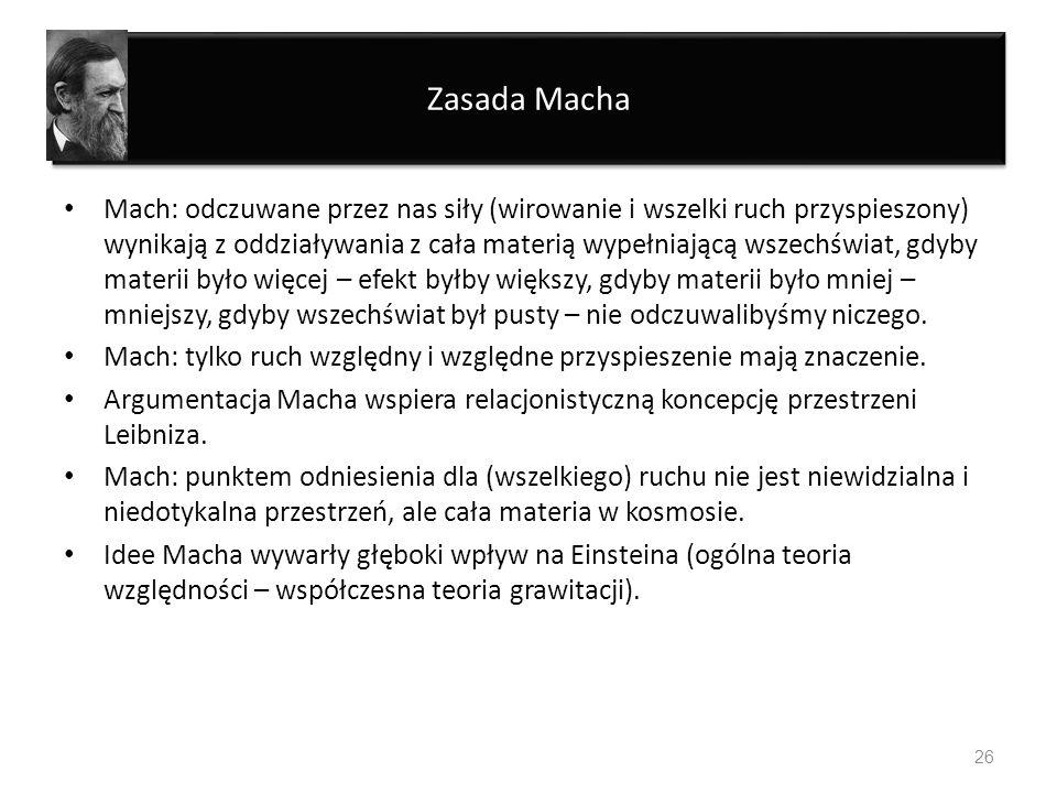 Zasada Macha