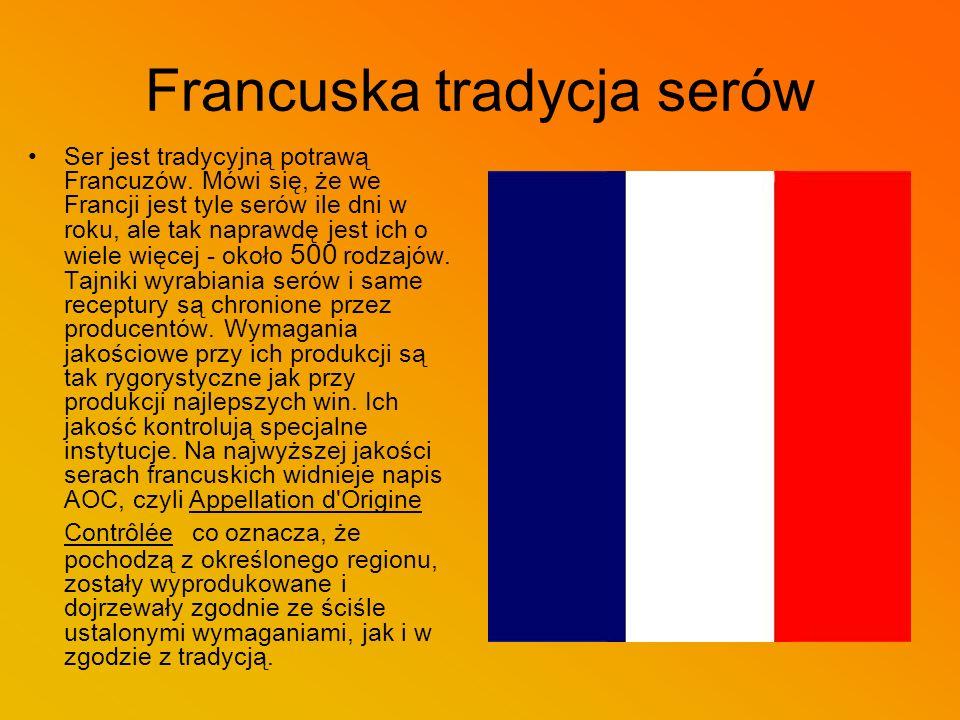 Francuska tradycja serów