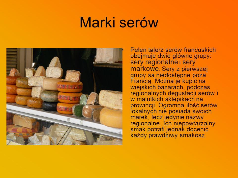 Marki serów