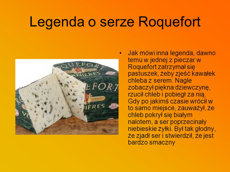 Legenda o serze Roquefort