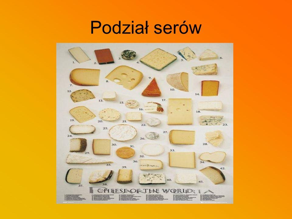Podział serów