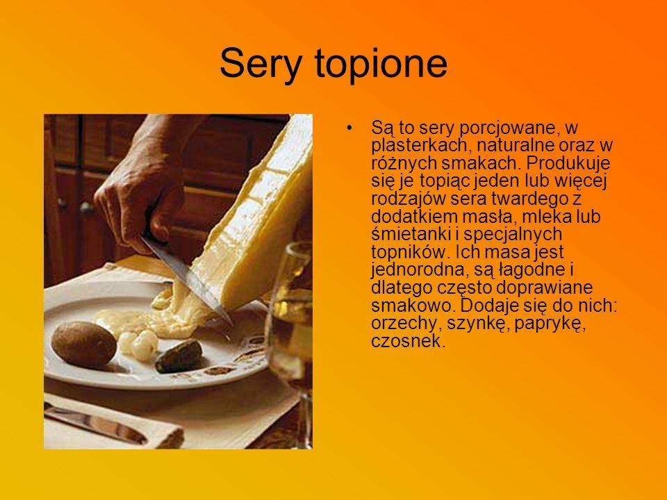 Sery topione