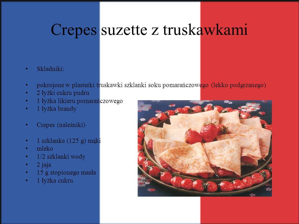 Crepes suzette z truskawkami