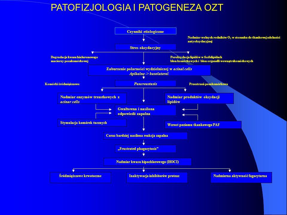 PATOFIZJOLOGIA I PATOGENEZA OZT
