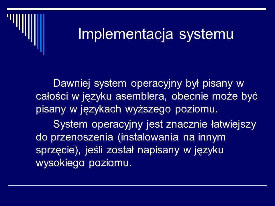 Implementacja systemu