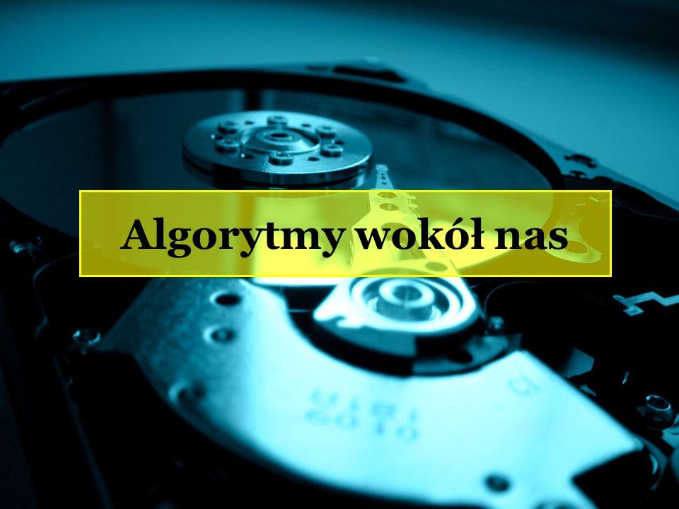 Algorytmy wokół nas