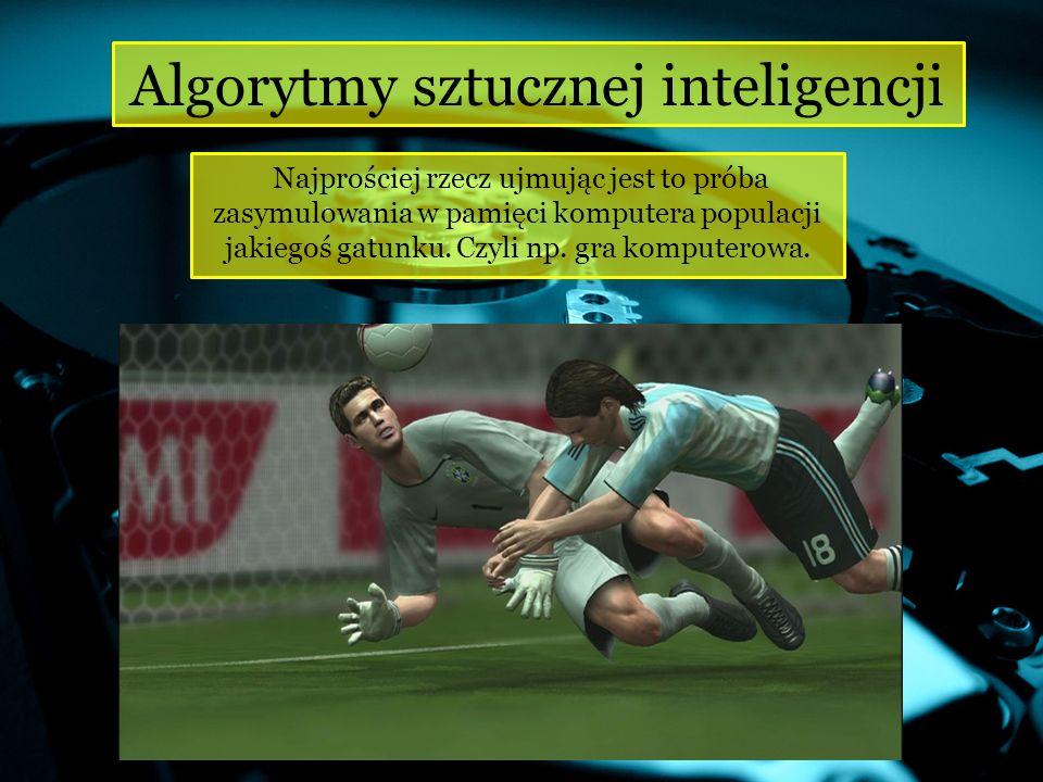 Algorytmy sztucznej inteligencji