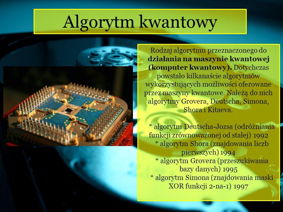Algorytm kwantowy
