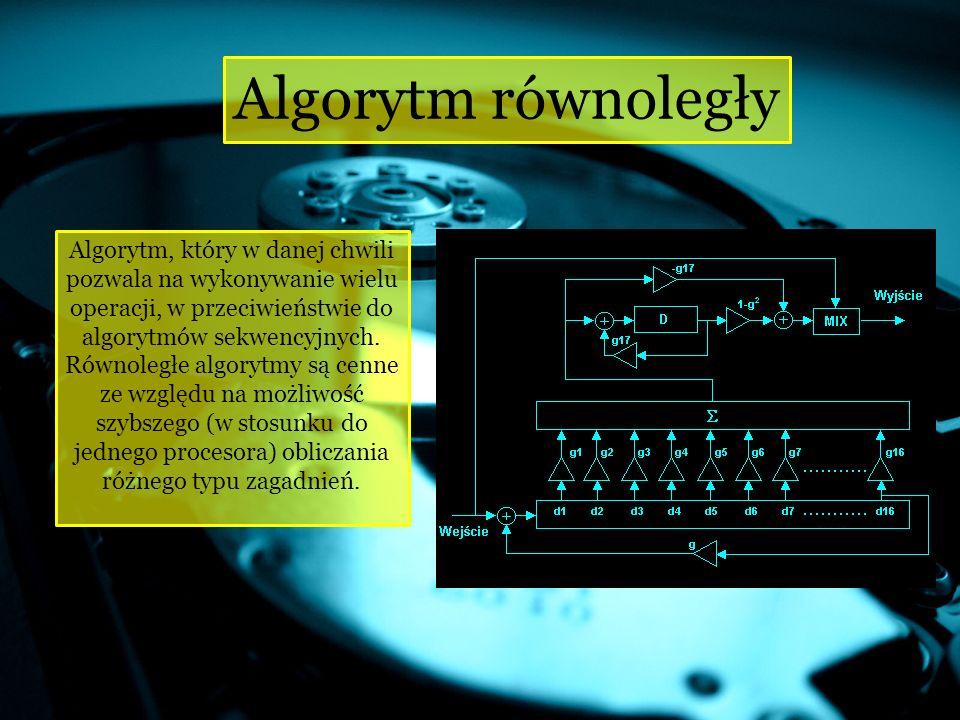Algorytm równoległy