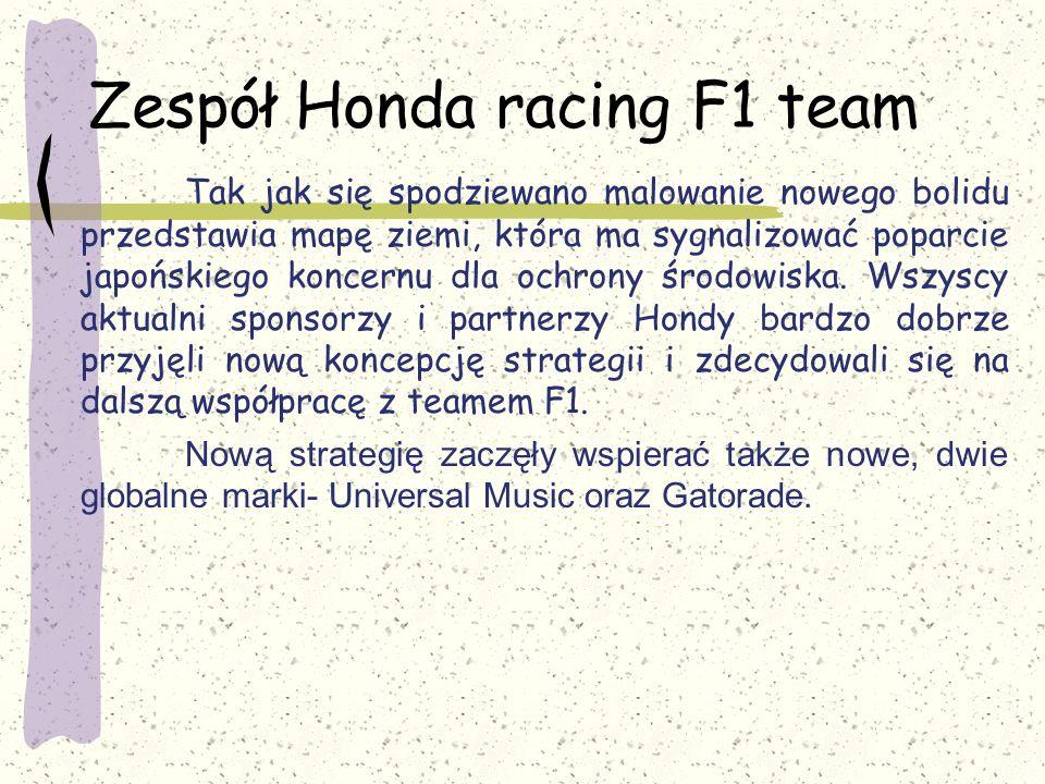 Zespół Honda racing F1 team