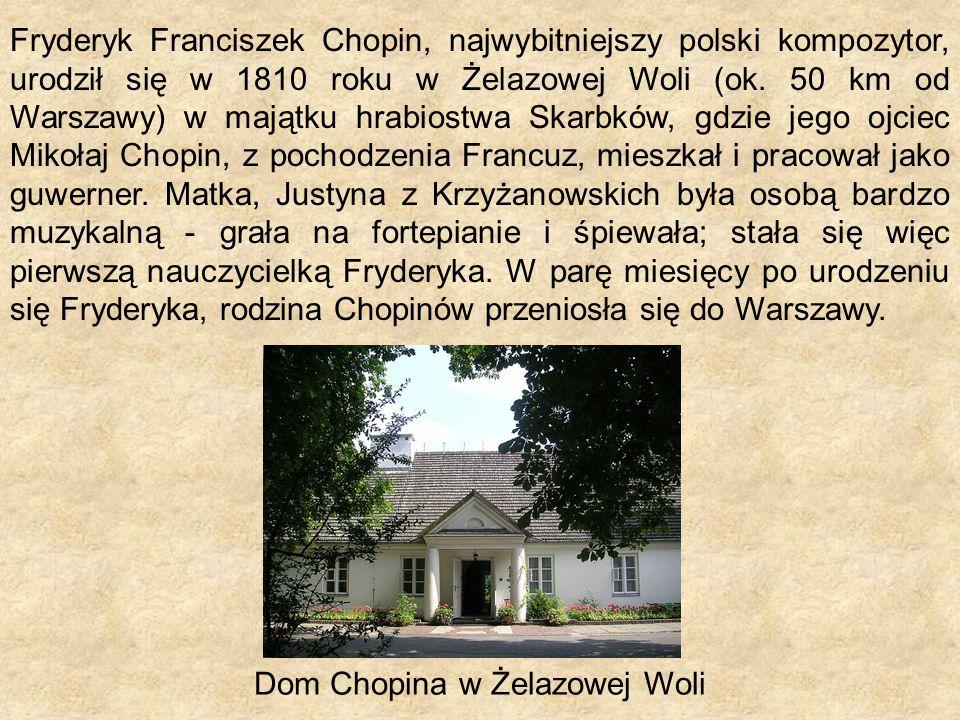 Dom Chopina w Żelazowej Woli