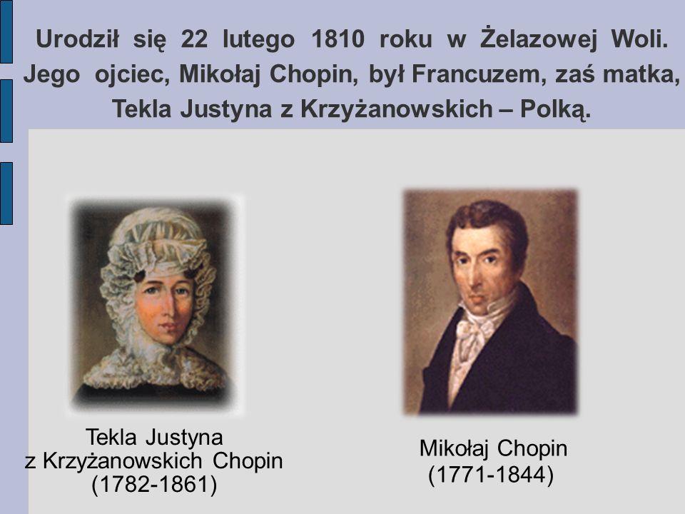 Tekla Justyna z Krzyżanowskich Chopin (1782-1861)