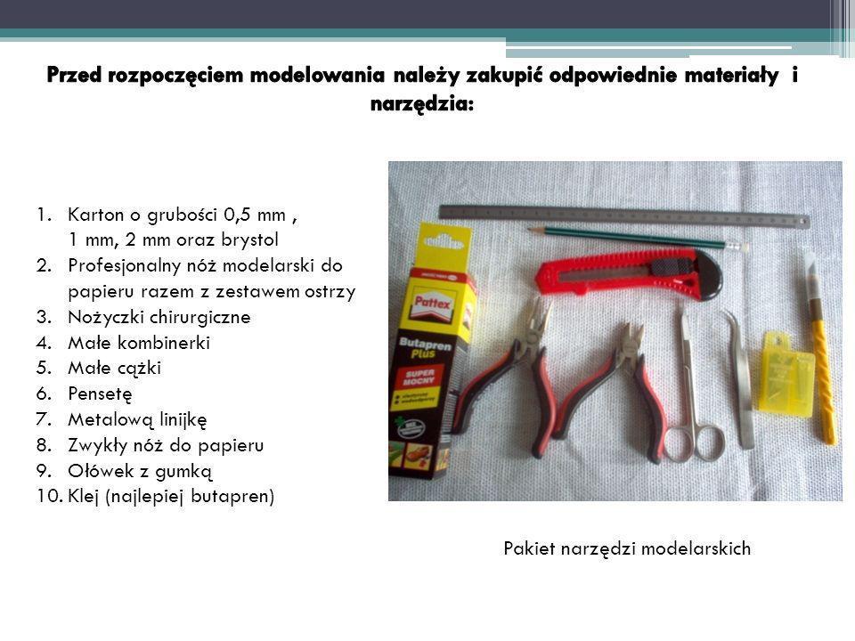 Pakiet narzędzi modelarskich