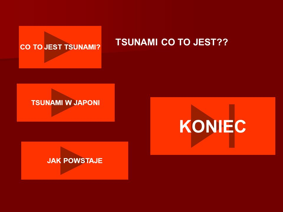 KONIEC TSUNAMI CO TO JEST CO TO JEST TSUNAMI TSUNAMI W JAPONI