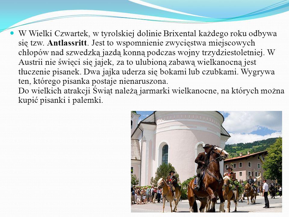 W Wielki Czwartek, w tyrolskiej dolinie Brixental każdego roku odbywa się tzw.