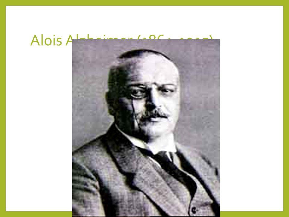 Alois Alzheimer (1864-1915)