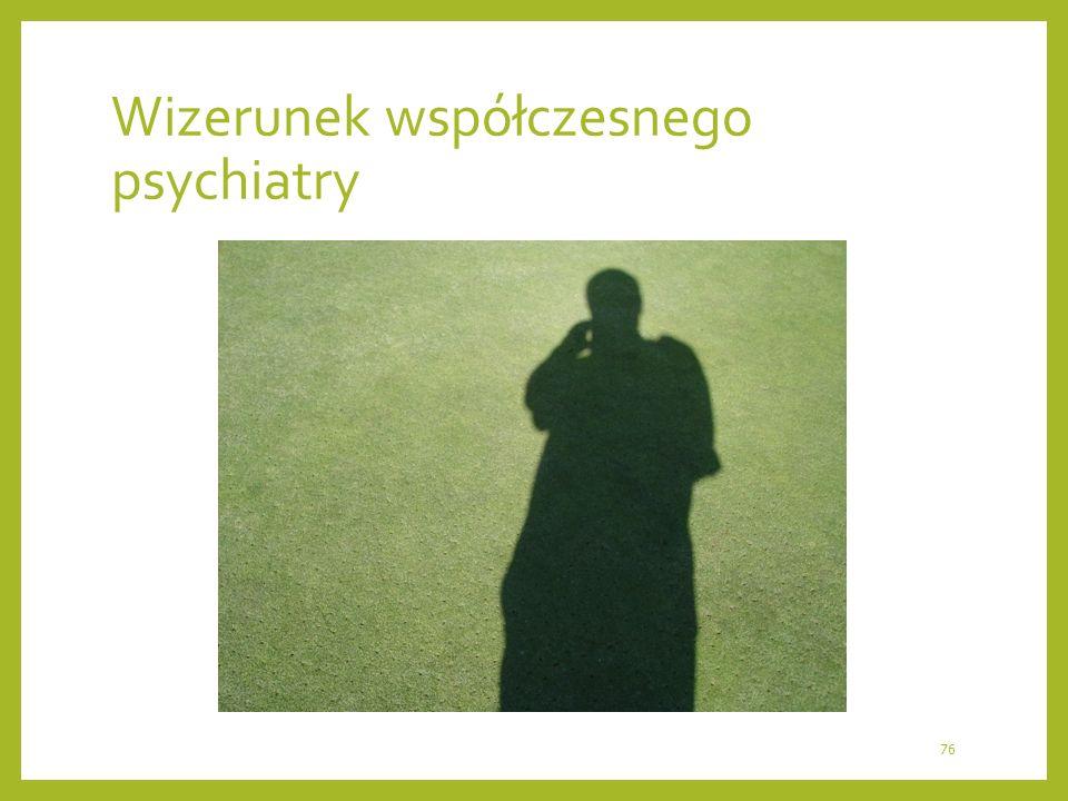 Wizerunek współczesnego psychiatry