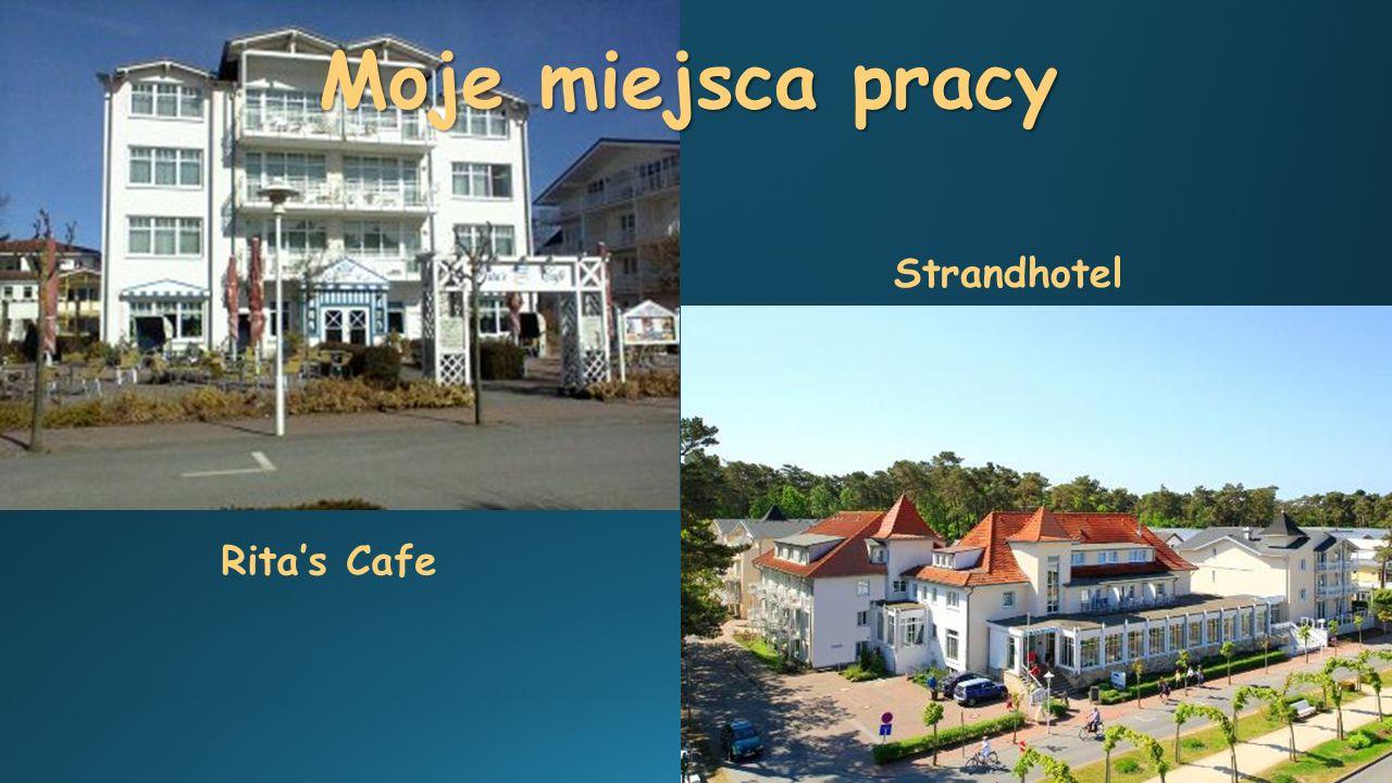 Moje miejsca pracy Strandhotel Rita's Cafe