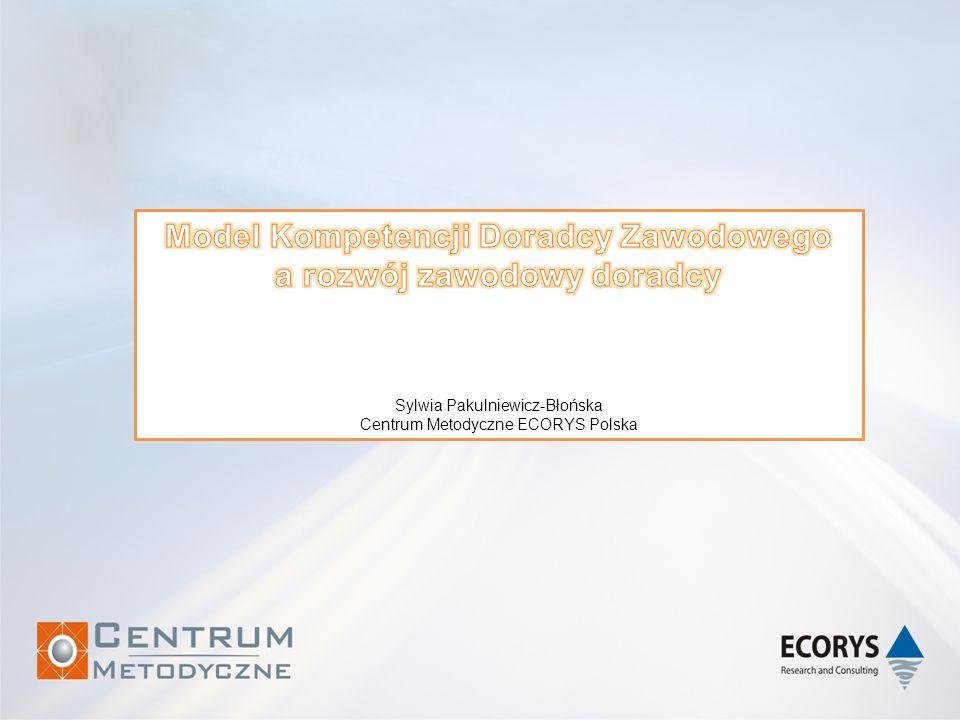 Model Kompetencji Doradcy Zawodowego a rozwój zawodowy doradcy
