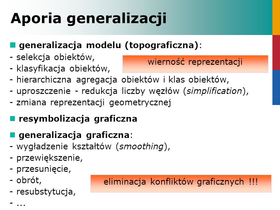 Aporia generalizacji