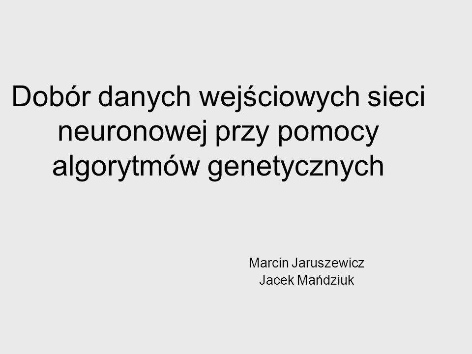 Marcin Jaruszewicz Jacek Mańdziuk