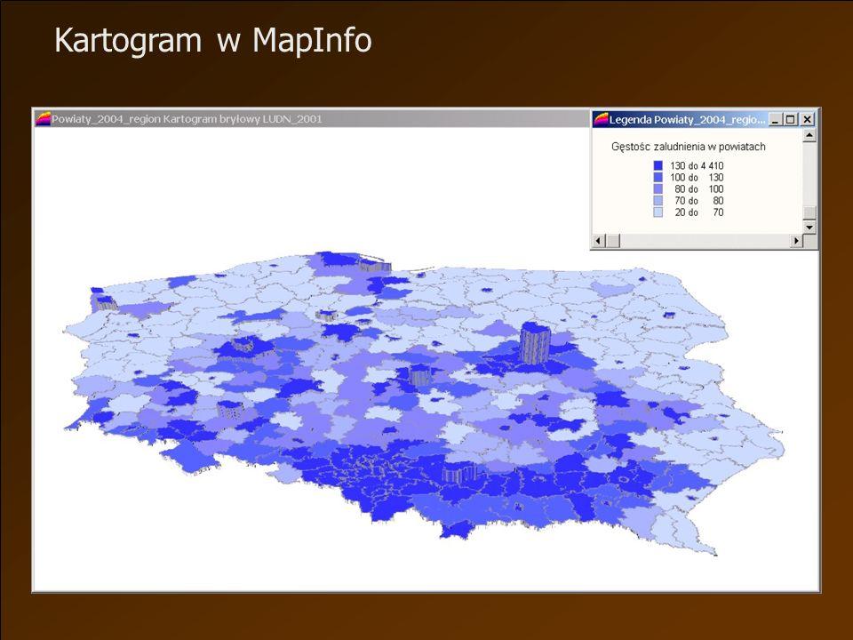 Kartogram w MapInfo