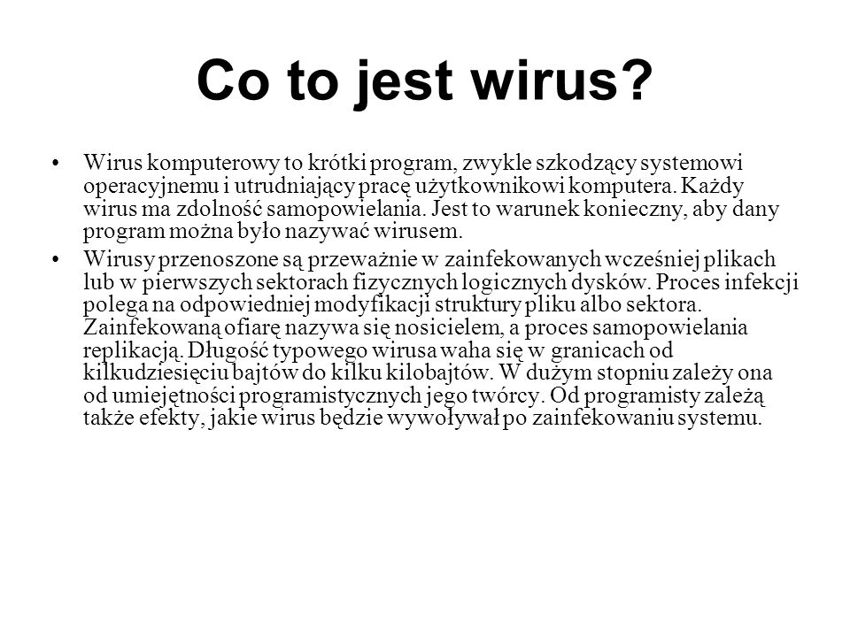 Co to jest wirus