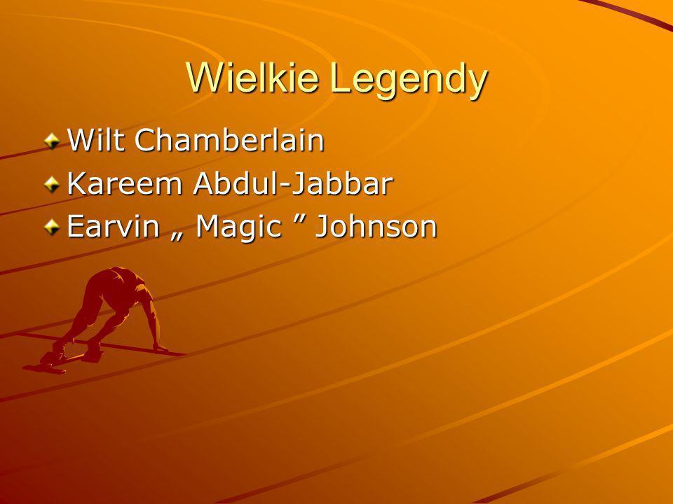 Wielkie Legendy Wilt Chamberlain Kareem Abdul-Jabbar
