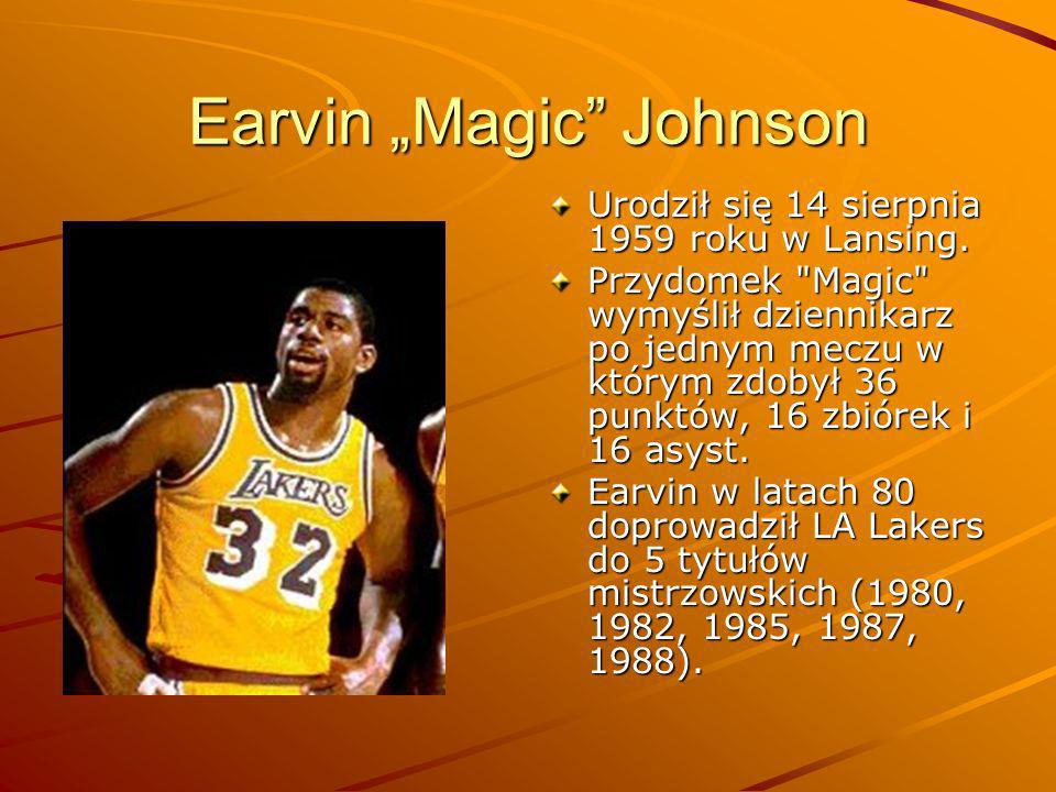"Earvin ""Magic Johnson"