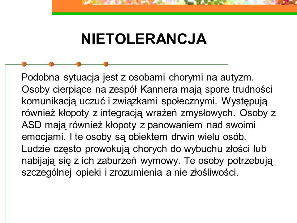 NIETOLERANCJA