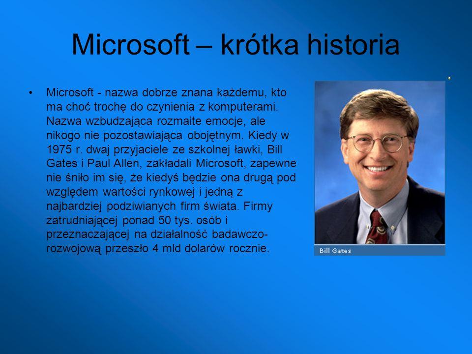 Microsoft – krótka historia