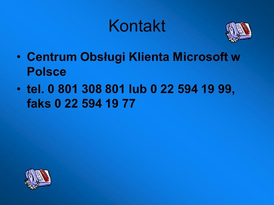 Kontakt Centrum Obsługi Klienta Microsoft w Polsce