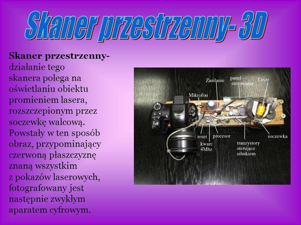 Skaner przestrzenny- 3D