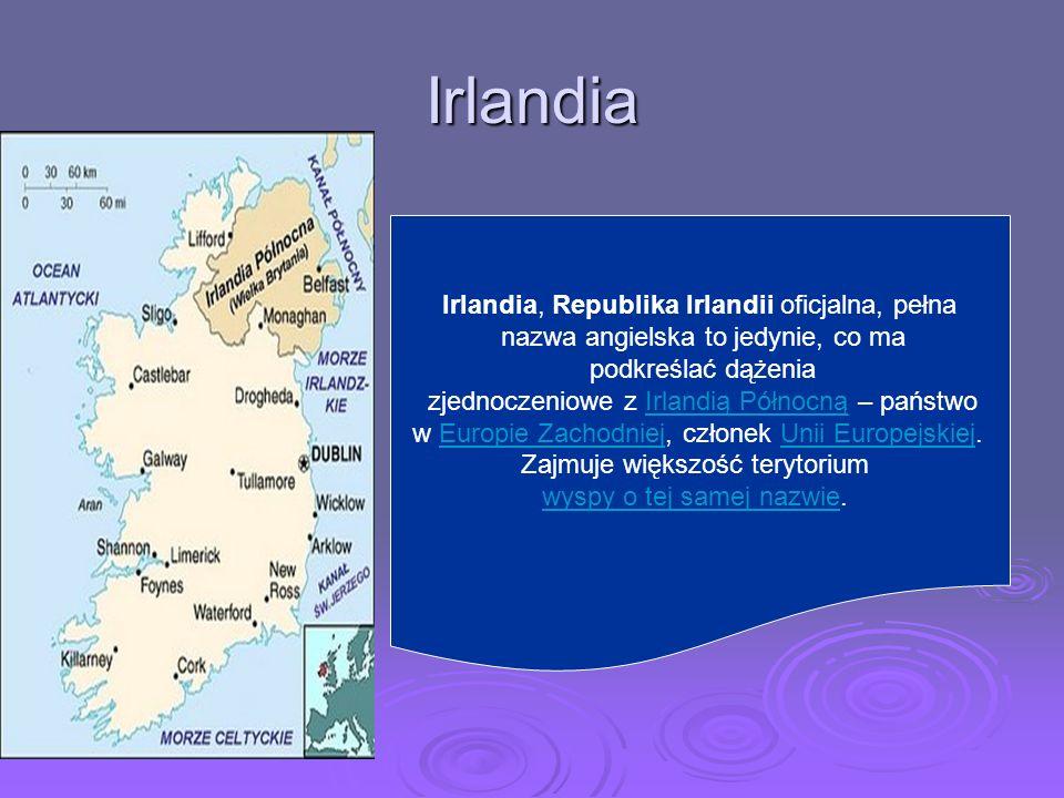 Irlandia Irlandia, Republika Irlandii oficjalna, pełna