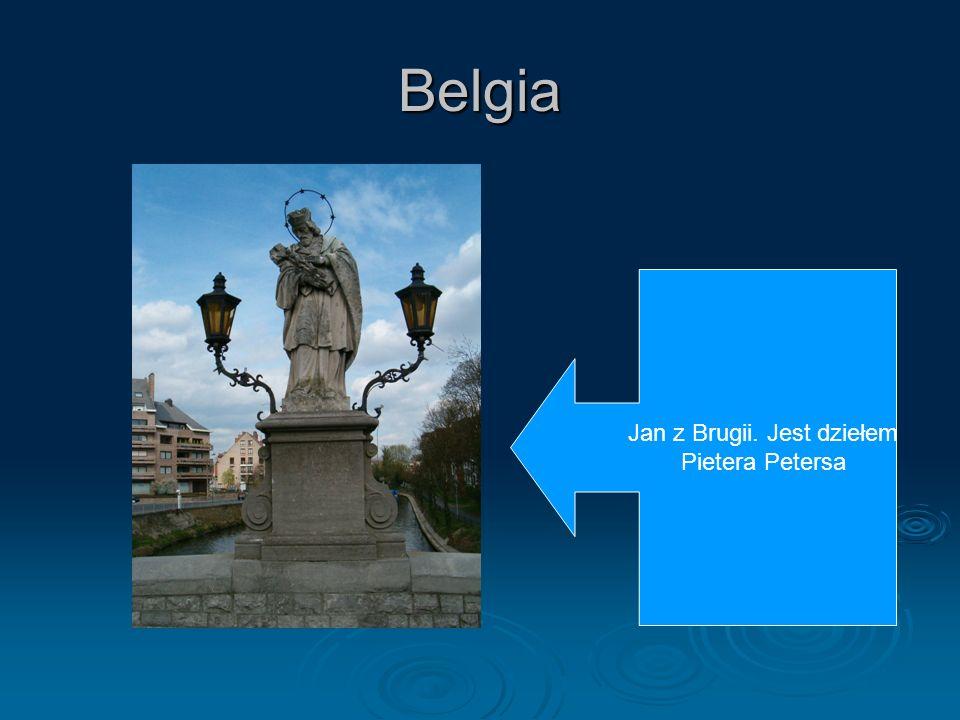 Jan z Brugii. Jest dziełem