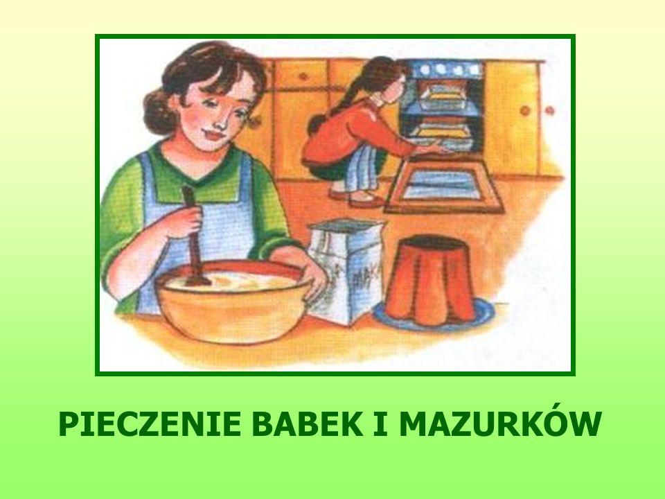 PIECZENIE BABEK I MAZURKÓW