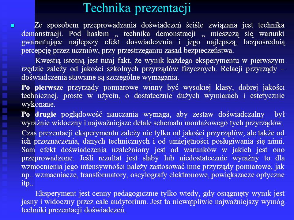 Technika prezentacji