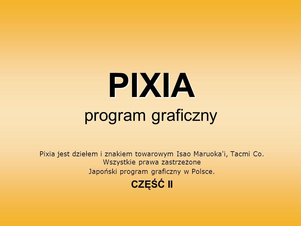PIXIA program graficzny