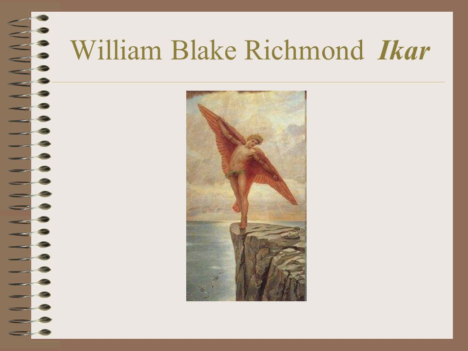 William Blake Richmond Ikar