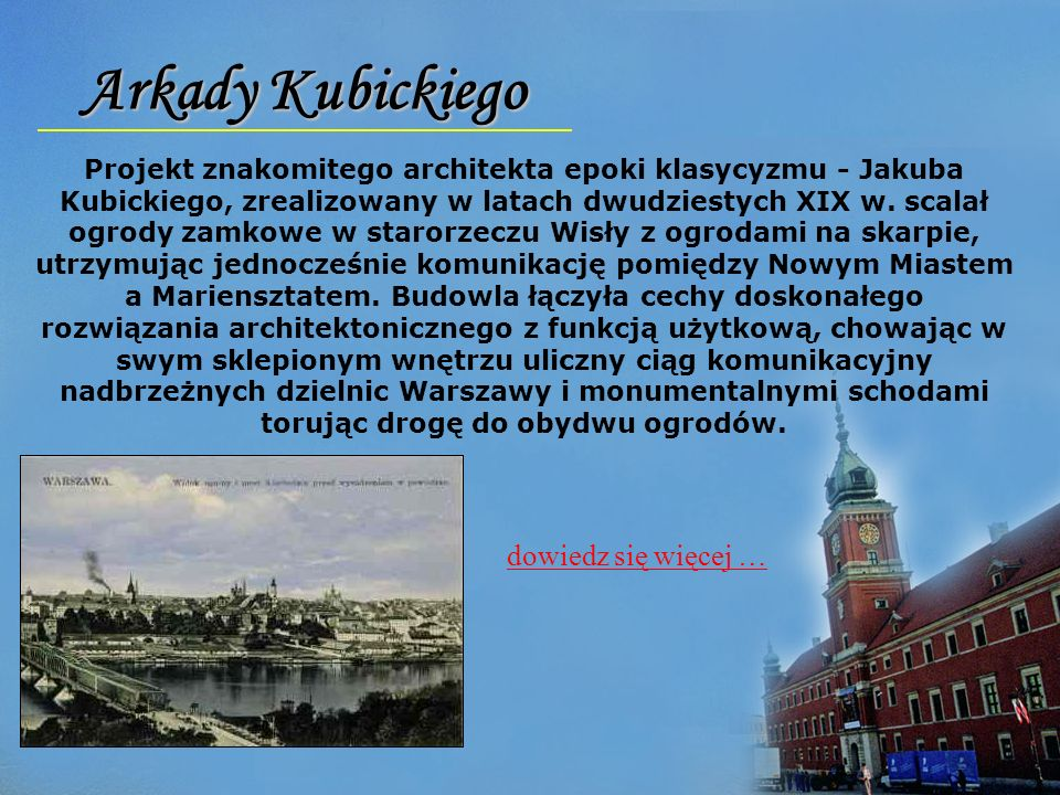 Arkady Kubickiego dowiedz się więcej …