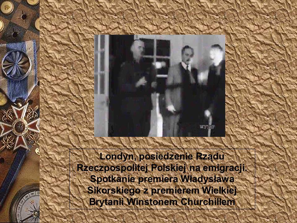Londyn, posiedzenie Rządu Rzeczpospolitej Polskiej na emigracji