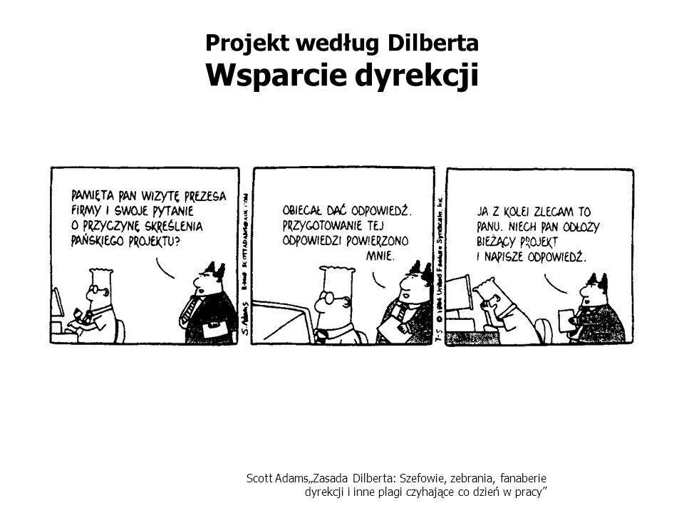 Projekt według Dilberta Wsparcie dyrekcji