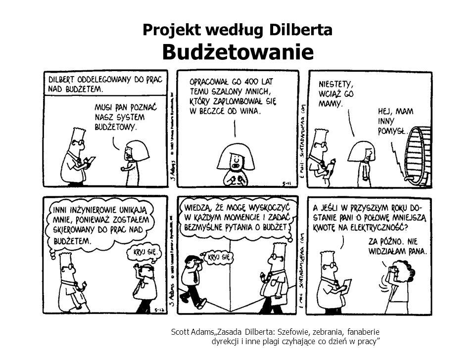 Projekt według Dilberta Budżetowanie