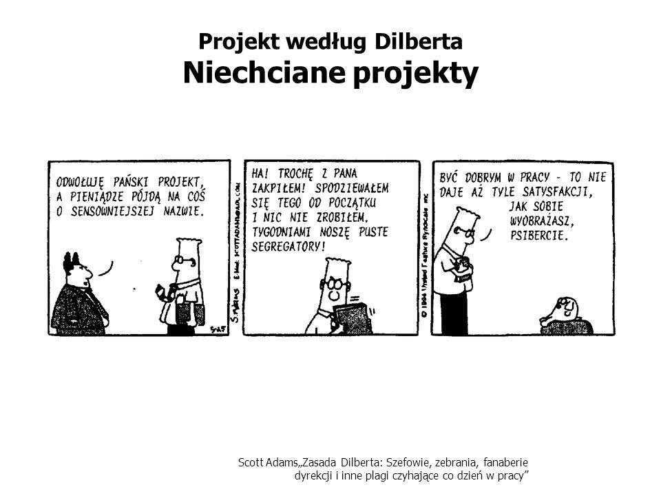Projekt według Dilberta Niechciane projekty