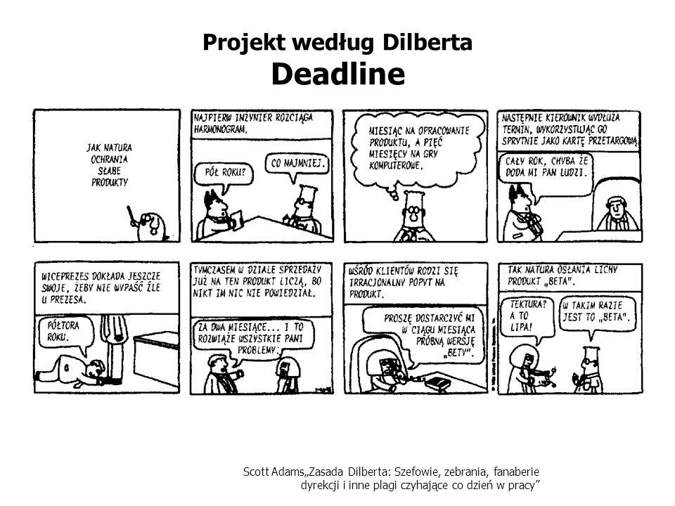 Projekt według Dilberta Deadline