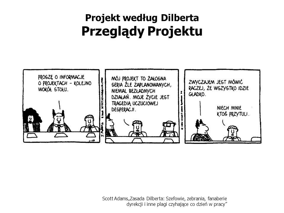 Projekt według Dilberta Przeglądy Projektu