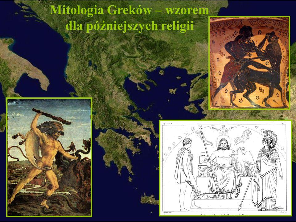 Mitologia Greków – wzorem dla późniejszych religii