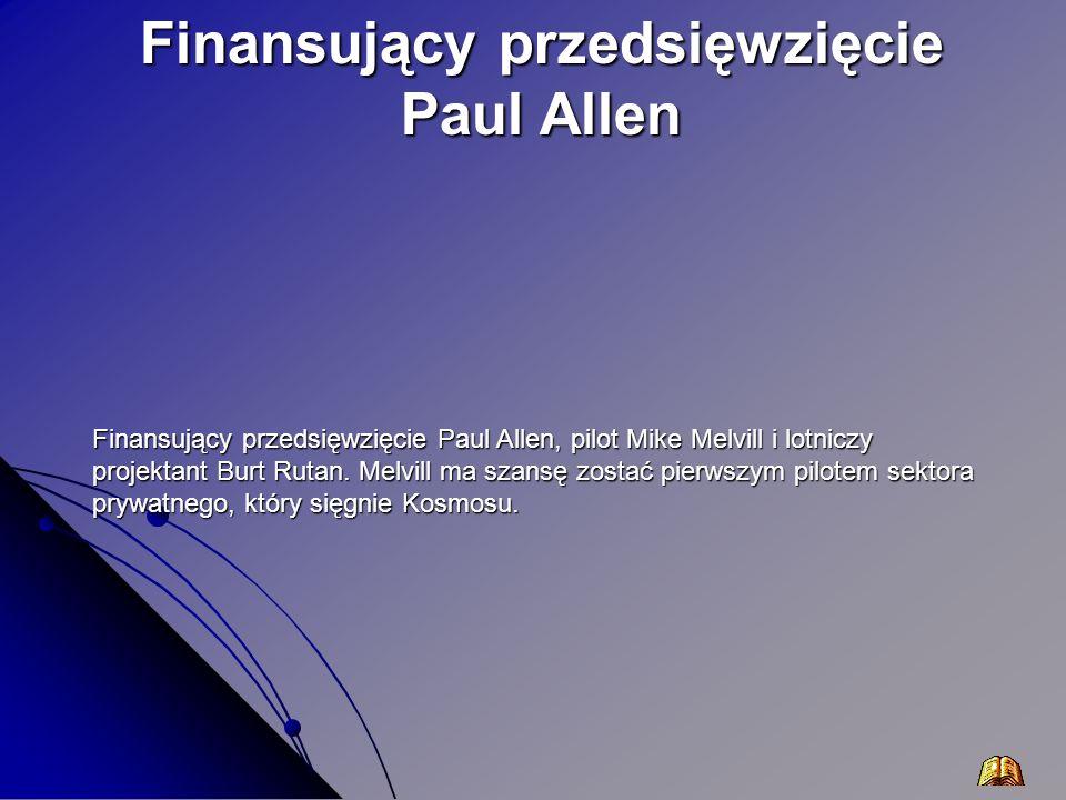 Finansujący przedsięwzięcie Paul Allen